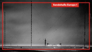 Sendehalle Europe 1, Archivbild